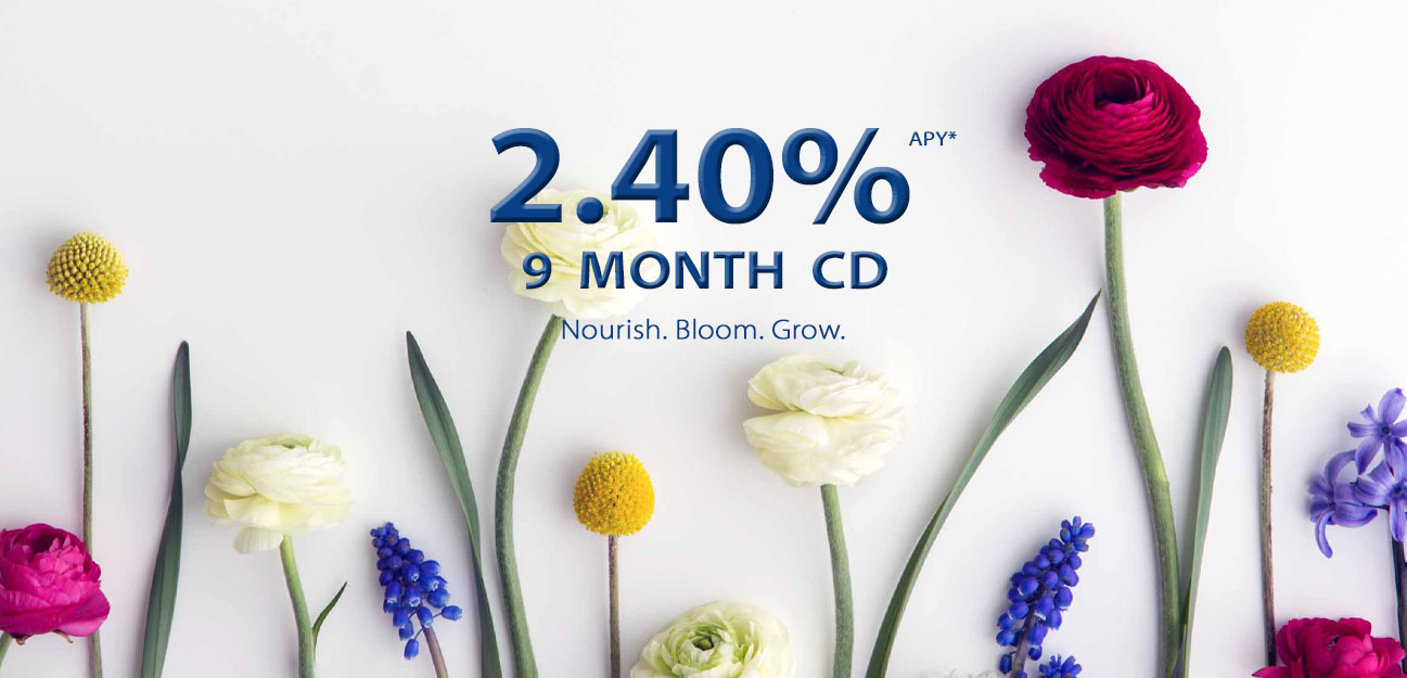 2.4% 9 month CD special