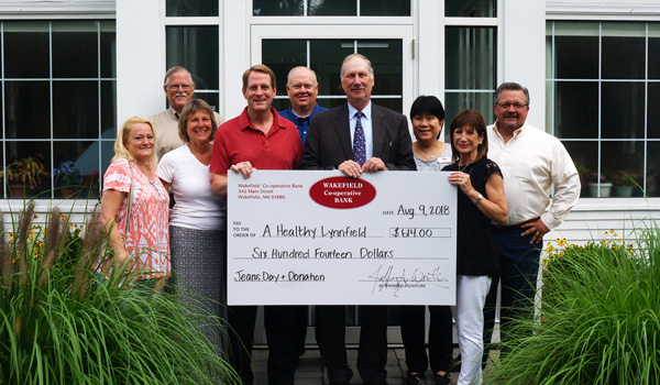 A Healthy Lynnfield Check Donation