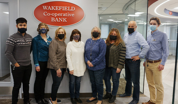 Wakefield branch staff Jeans Day